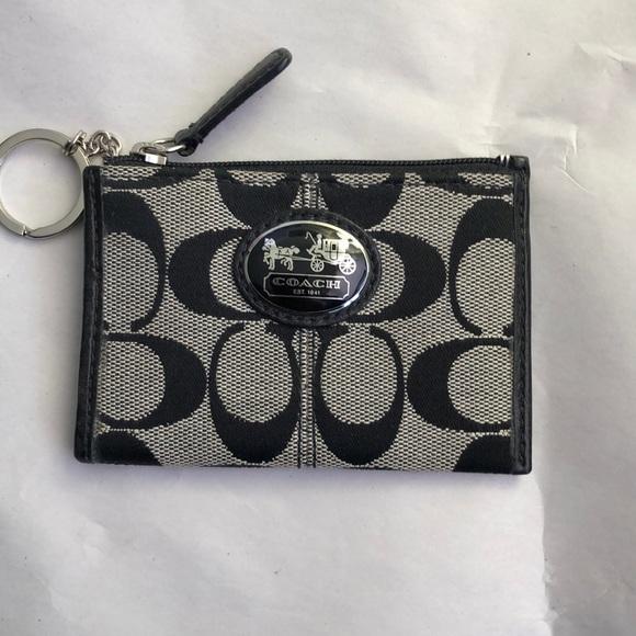 Coach Coin Pouch Keychain